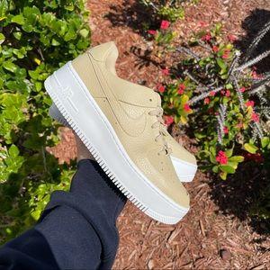 "Nike Air Force 1 Sage Low ""Tan"""